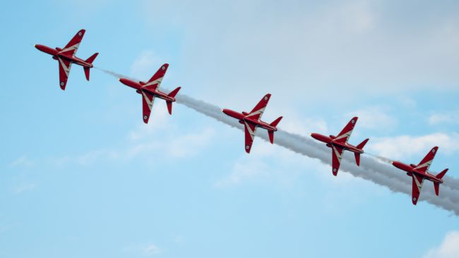 A Blakey | red arrows