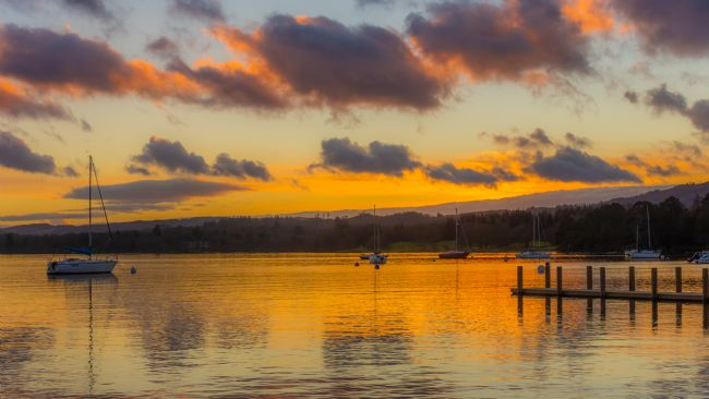 Mark Ingleby | Sunset Over Windermere