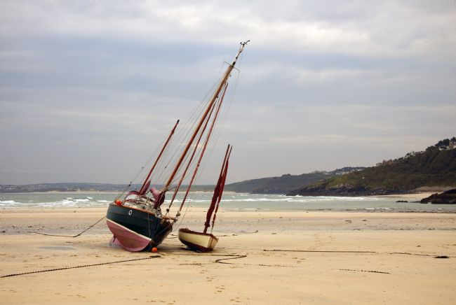 Graham Hare | Boats at low tide
