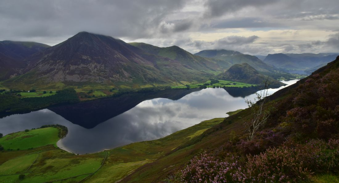 Robert Parsons | The Lake District: Crummock Water from Mellbreak