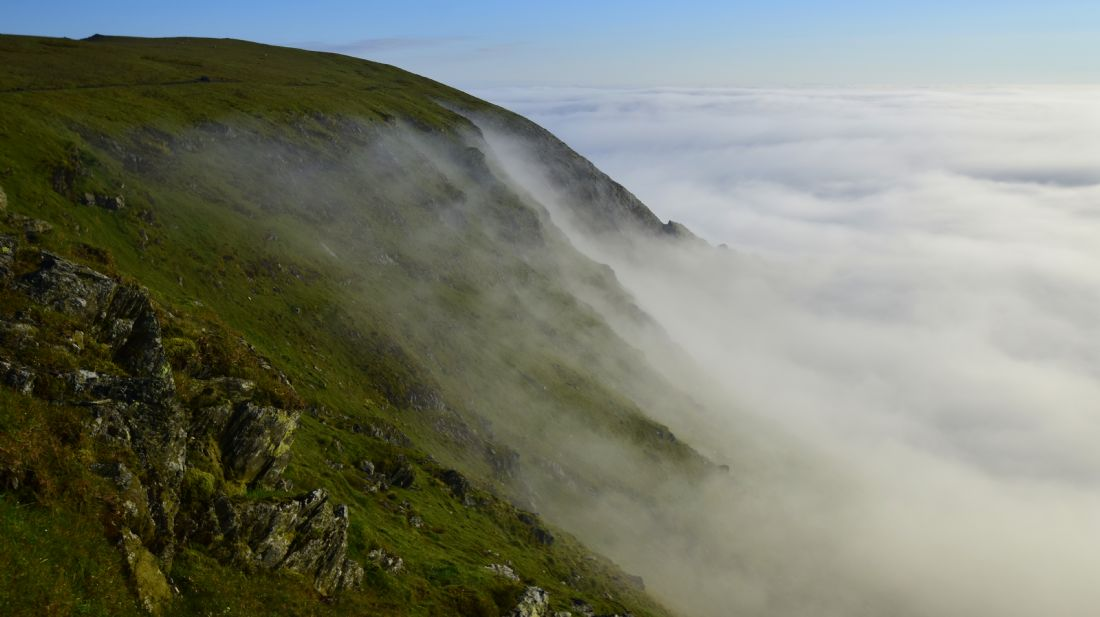 Robert Parsons | The Lake District: Cloud Inversion from Blencathra