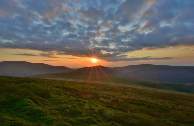 Robert Parsons | The Lake District: Sunset from Blencathra