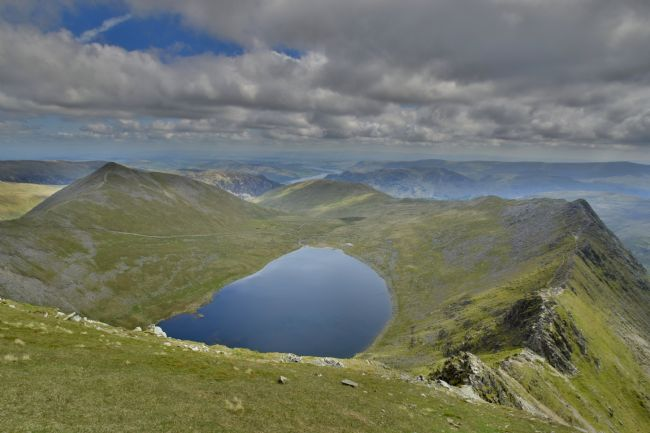 Robert Parsons | The Lake District: Red Tarn from Helvellyn