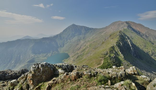 Robert Parsons | Wales: Snowdon from Crib Coch