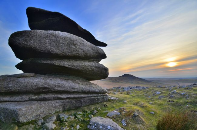 Robert Parsons | Cornwall: Sunset at Showery Tor