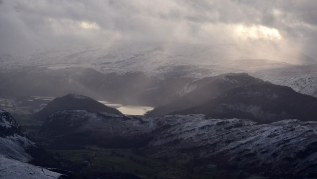 Robert Parsons | The Lake District: Winter View from Blencathra