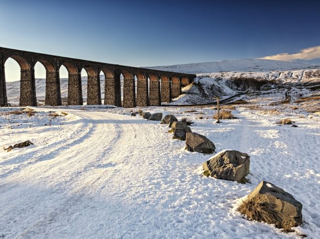 Reg Atkinson | Ribblehead Viaduct - Winter