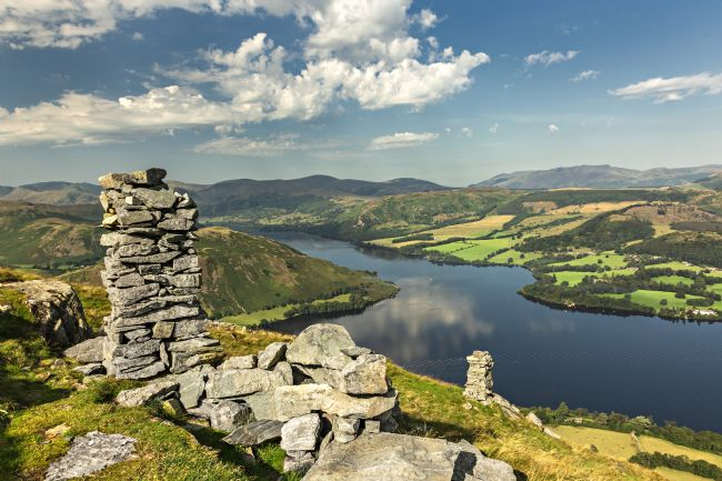 Reg Atkinson | Bonscale Towers and Ullswater