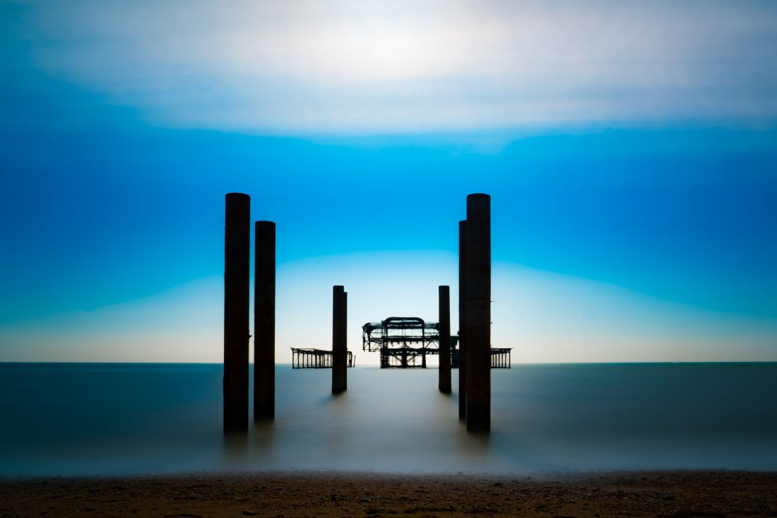 Chris Lord | West Pier Silhouette