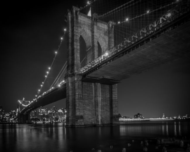 Chris Lord | The Brooklyn Bridge At Night