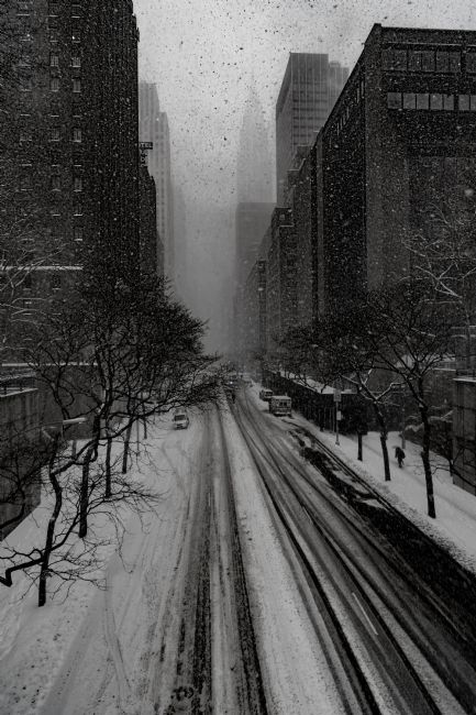 Chris Lord | Snowstorm On 42nd Street