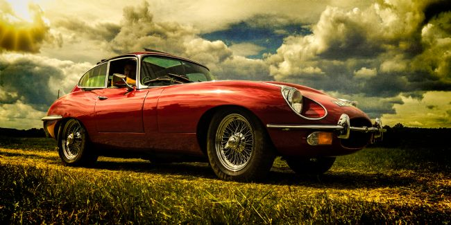 Chris Lord | 1960s British Red Sportscar