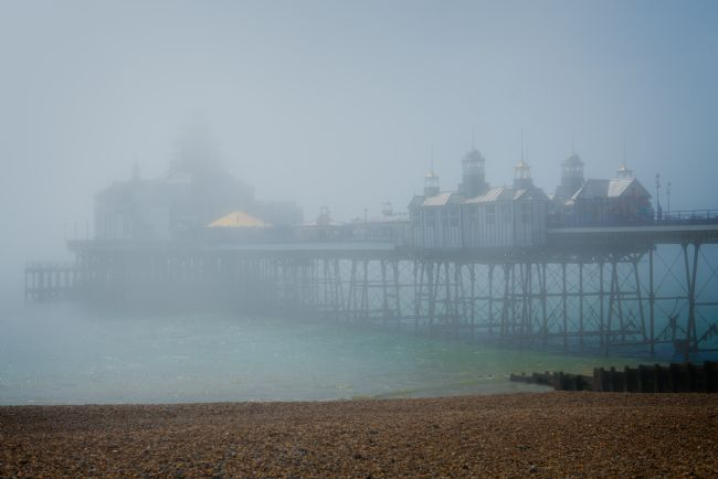 Chris Lord | A Misty Morning At Eastbourne Pier