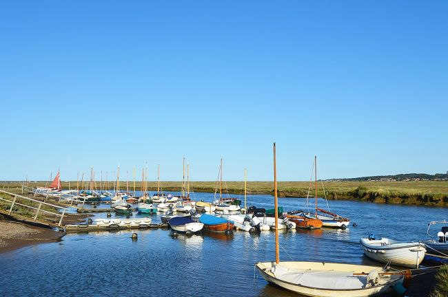Jessica Sims | Boats at Blakeney Point, Norfolk
