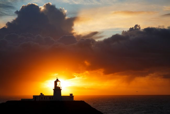 Ian Middleton | Sunset at Strumble Head Lighthouse