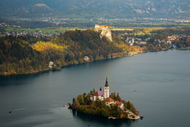 Ian Middleton | View of Lake Bled from Mala Osojnica