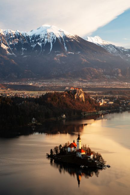 Ian Middleton | Morning view of Lake Bled from Mala Osojnica
