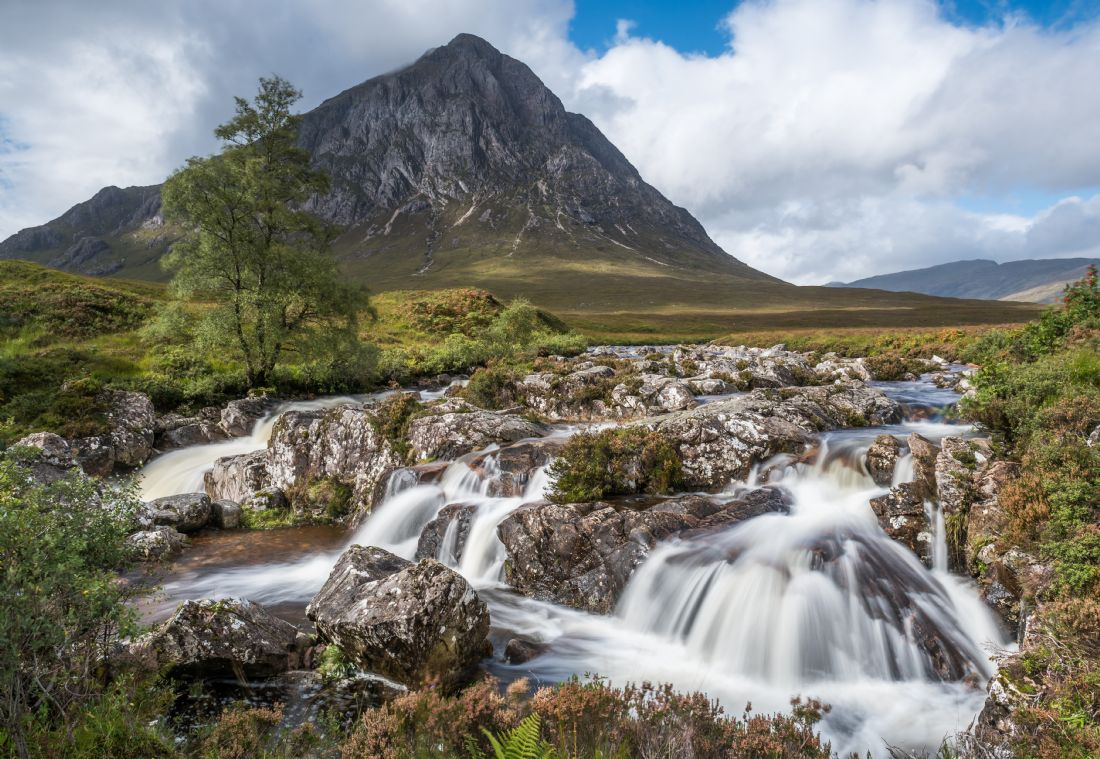 George Robertson | Buchaille Etive Mor and the waterfalls