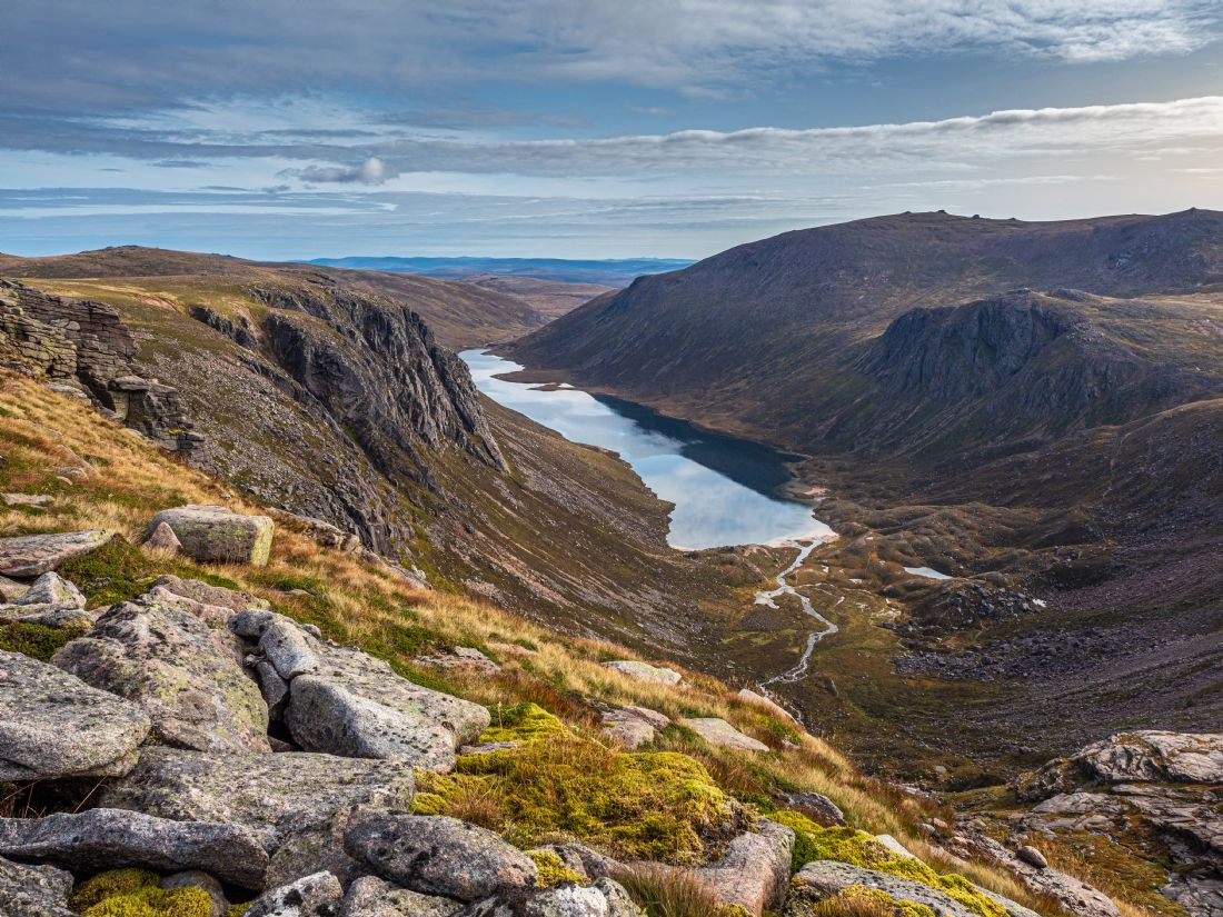 George Robertson | Looking out over (Loch Avon) Loch A'an in the Cairngorm National Park