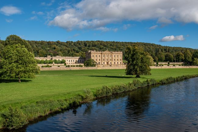 George Robertson | Looking over the fields to Chatsworth House