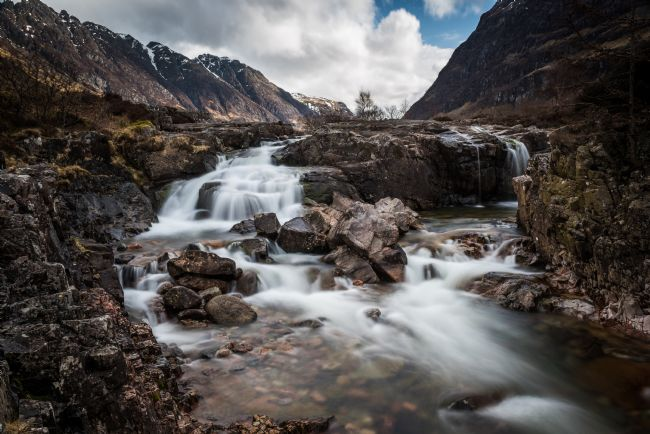 George Robertson | Waterfalls on the River Coe
