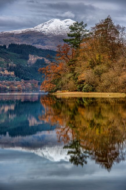 George Robertson | Reflections of Ben Lomond