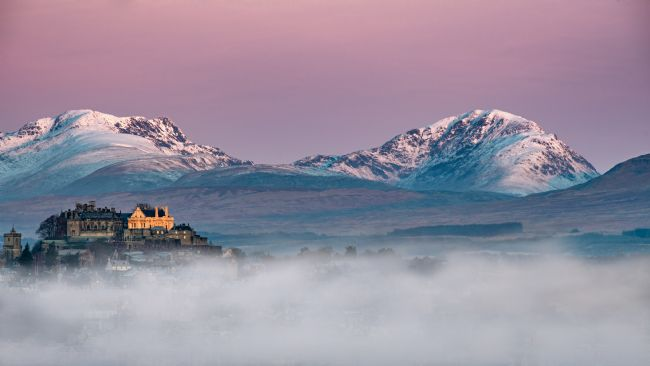 George Robertson | Winter sunrise at Stirling Castle, Scotland
