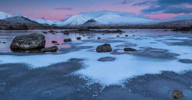 George Robertson | Winter Sunrise at Lochan na h-achlaise