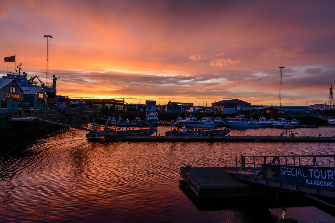 Mike Carroll | Reykjavik harbour sunset