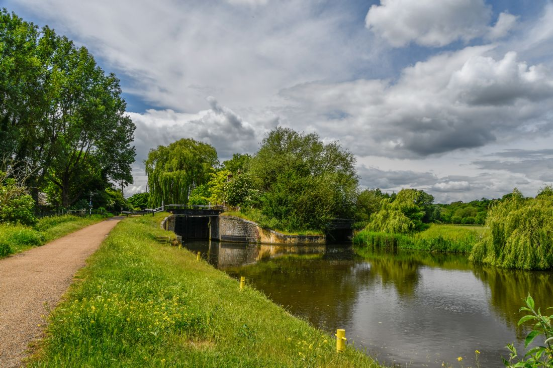 Mike Carroll | Hertford Lock No. 1