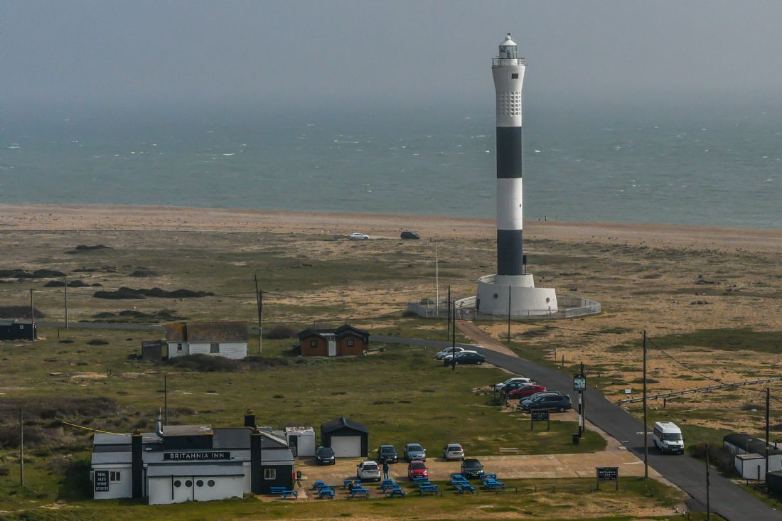 Mike Carroll | The New Lighthouse - Dungeness