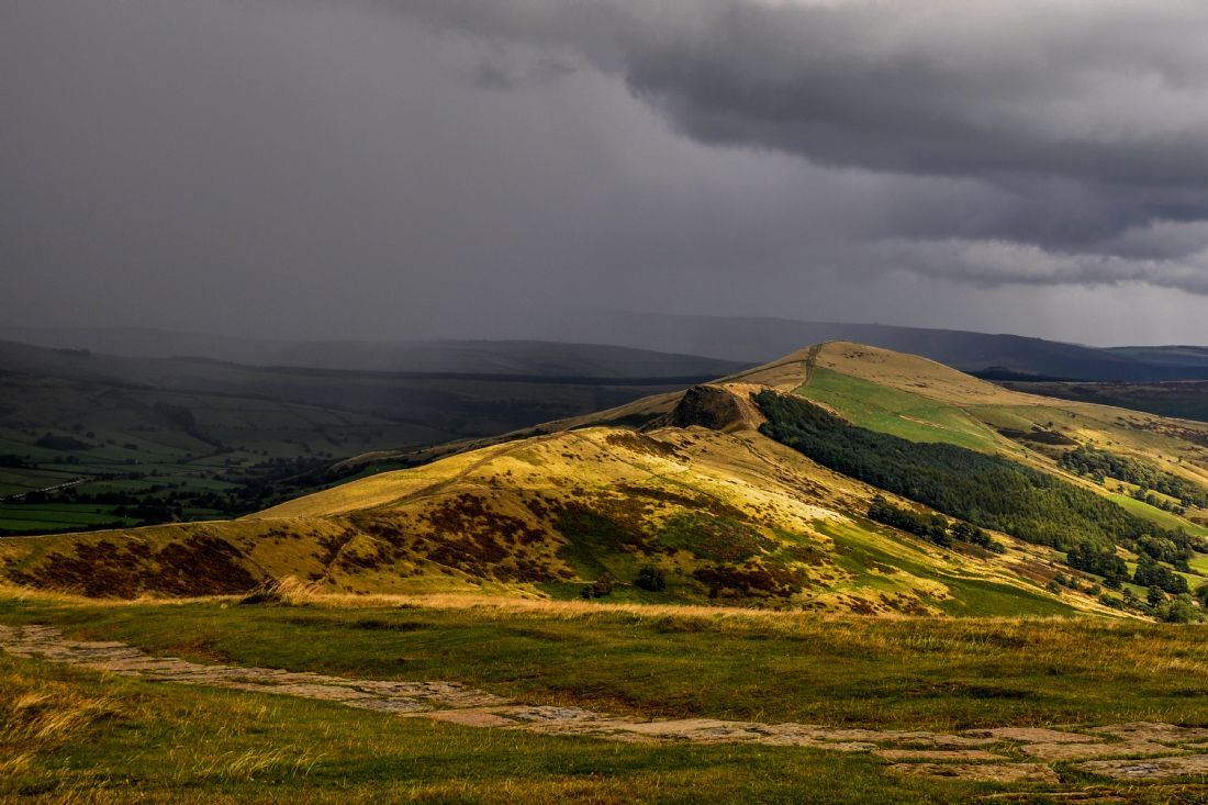 Mike Carroll | Storm approaching Mam Tor