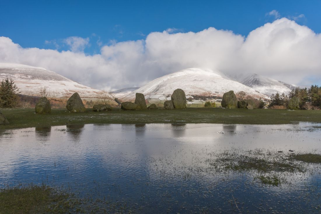 Mike Carroll | Blencathra and the Castlerigg stone circle
