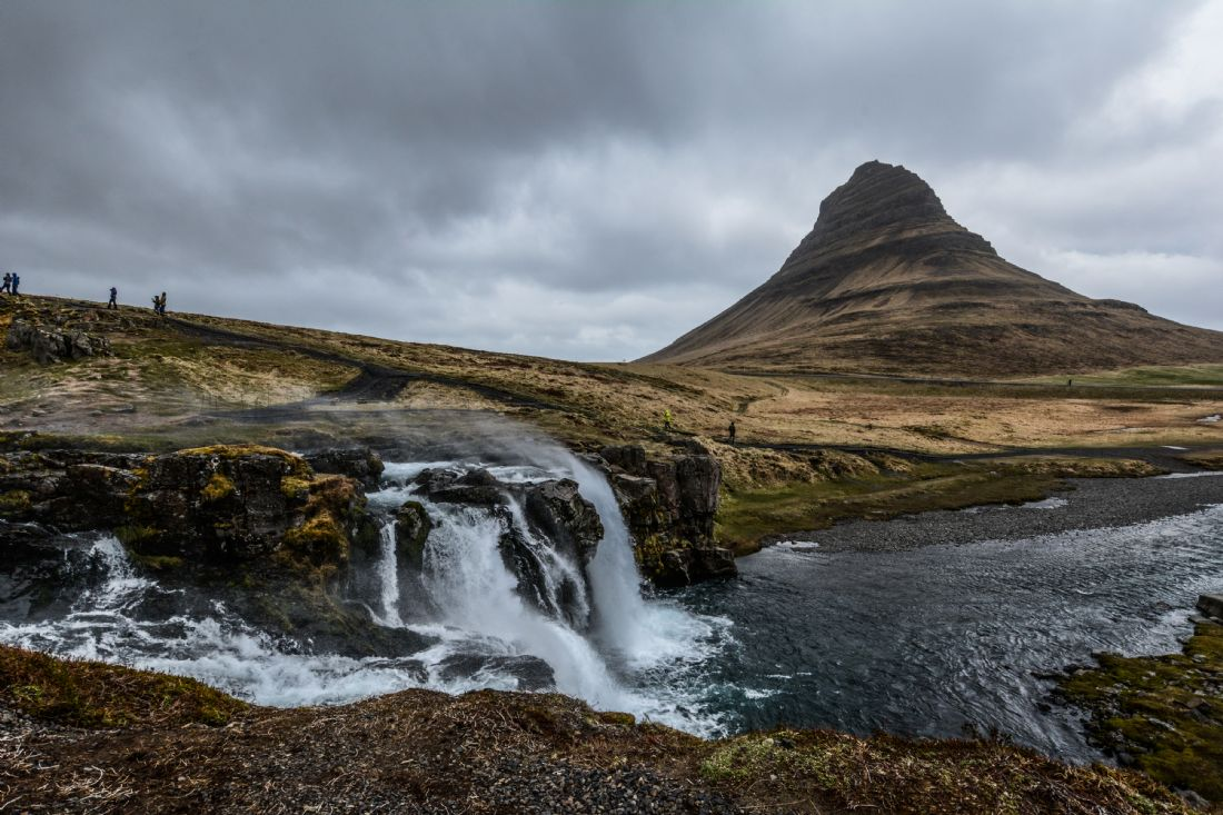 Mike Carroll | Stormy day at Kirkjufell, south-west Iceland