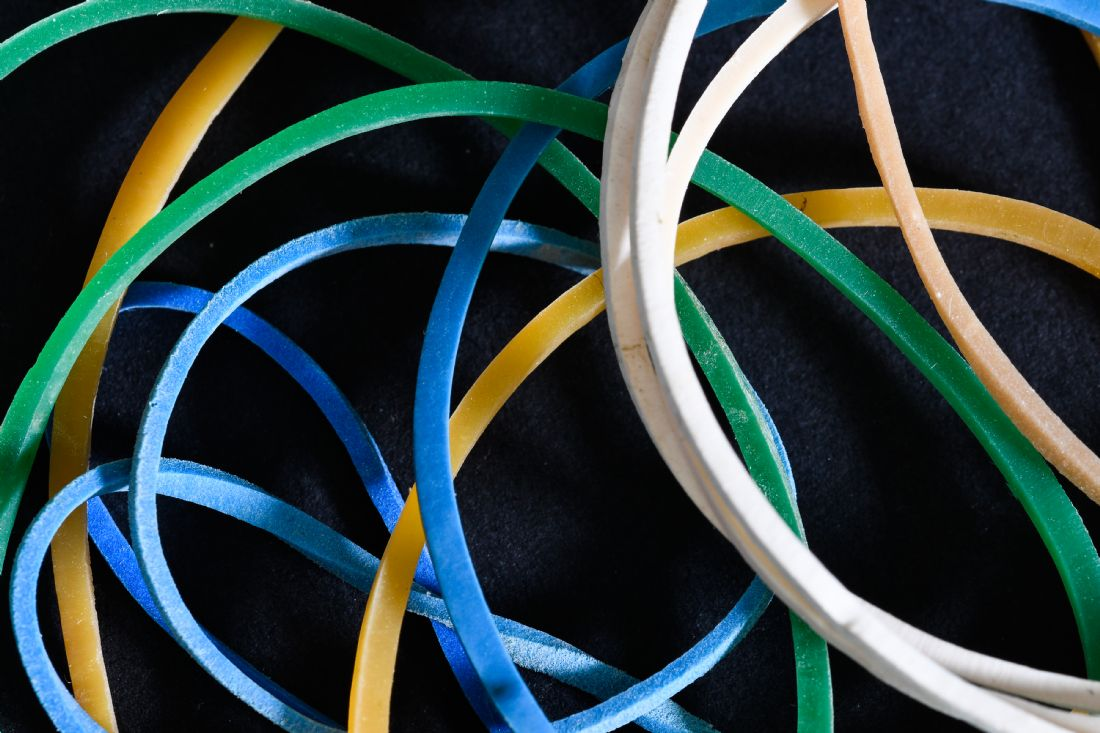 Mike Carroll | Rubber Band Abstract