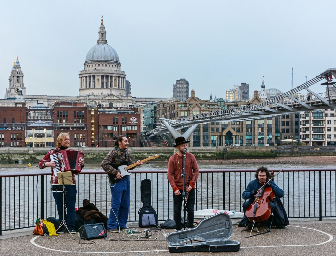 Mike Carroll | South Bank Buskers