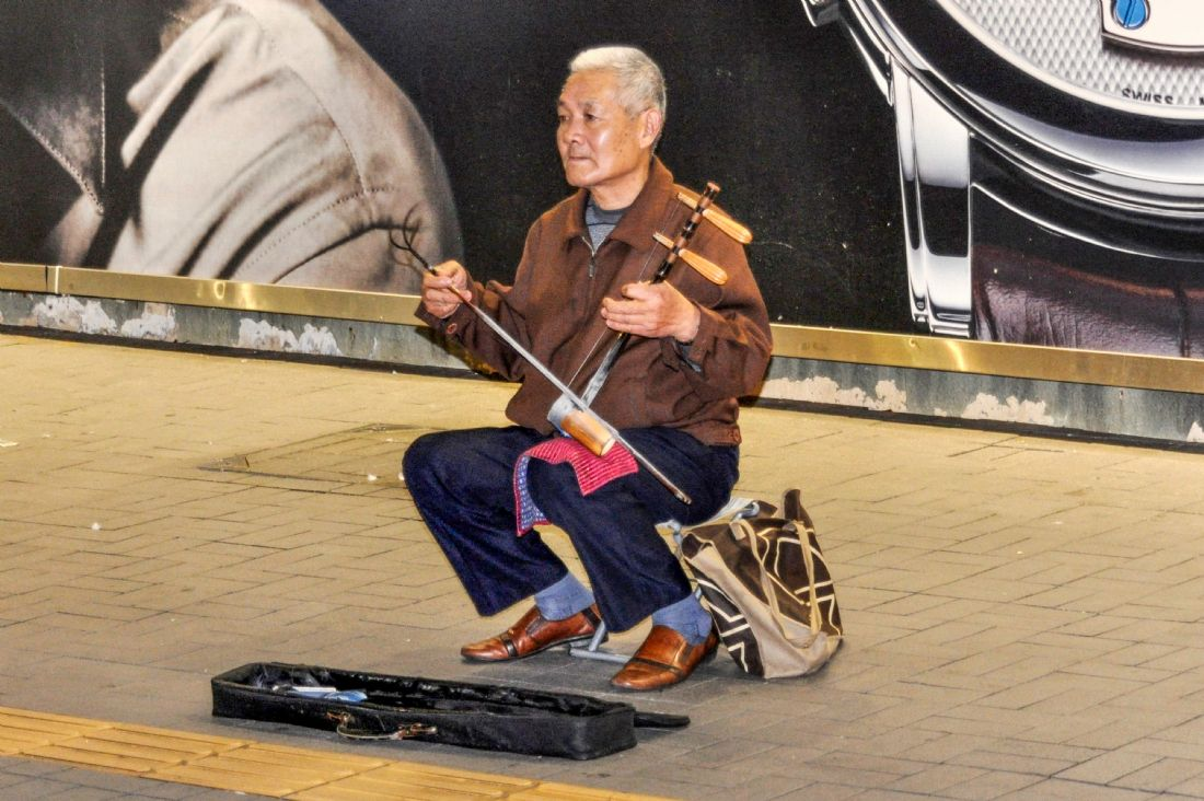 Mike Carroll | Hong Kong Busker