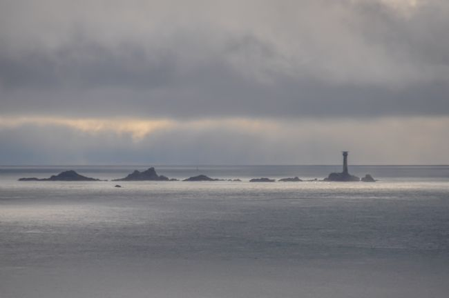 Mike Carroll | Longship's Lighthouse in Winter
