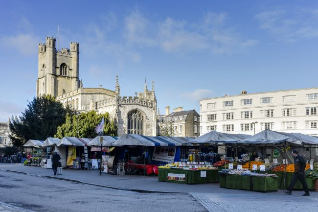 Mike Carroll | Great St Margaret's Church and Market, Cambridge, UK