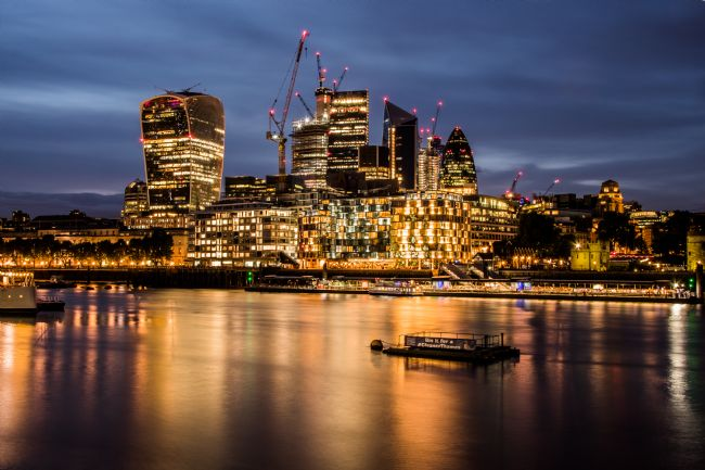 Mike Carroll | City of London at Night