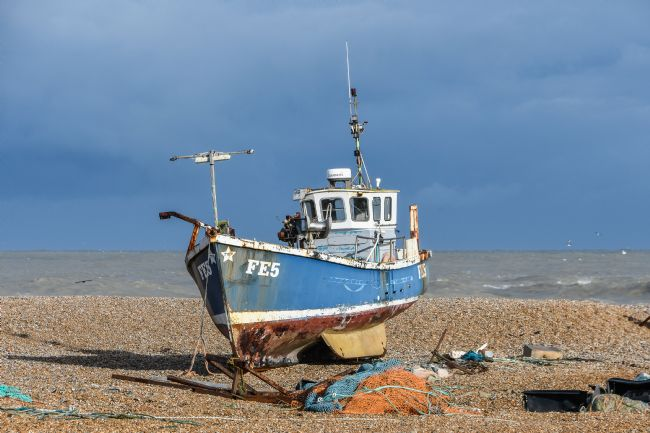 Mike Carroll | Beached Fishing Boat