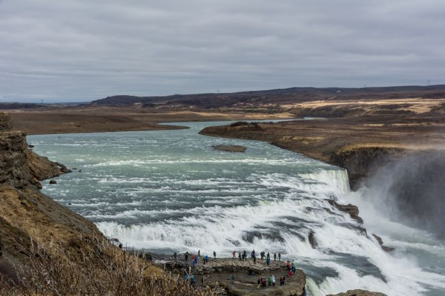 Mike Carroll | Gullfoss Waterfall
