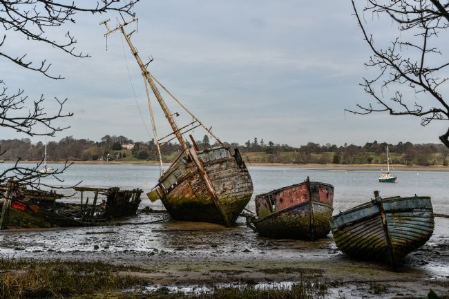 Mike Carroll | Boat Graveyard, Pin Mill, Suffolk