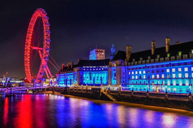 Mike Carroll | County Hall and the London Eye