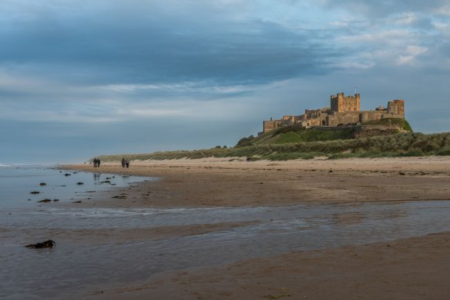 Mike Carroll | Bamburgh Castle at Sunset