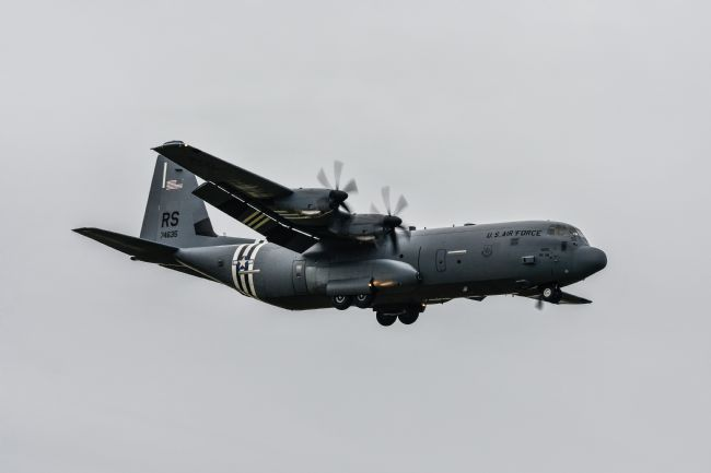 Mike Carroll | Lockhead C130 Hercules