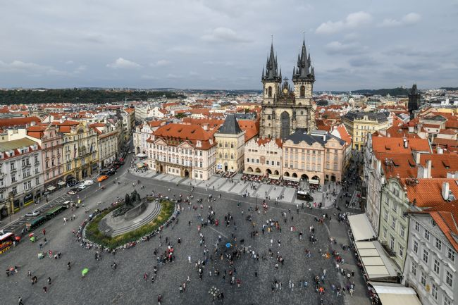 Mike Carroll | Old Town Square, Prague