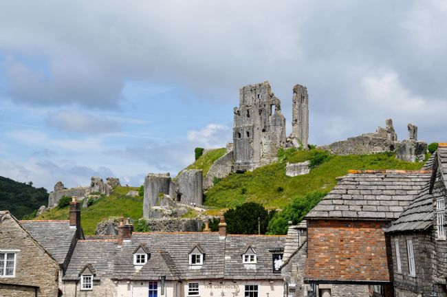 Mike Carroll | Corfe Castle from the village