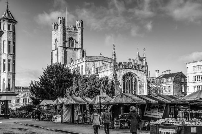 Mike Carroll | Great St Margarets Church, Cambridge B&W