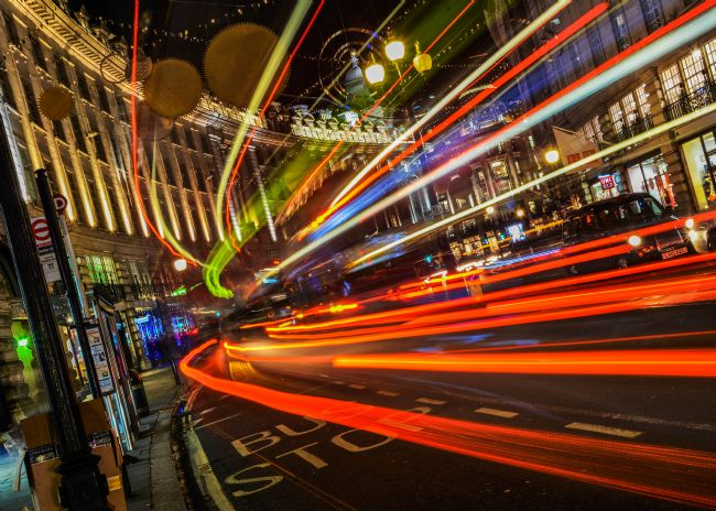 Mike Carroll | Regent Street Light Trails